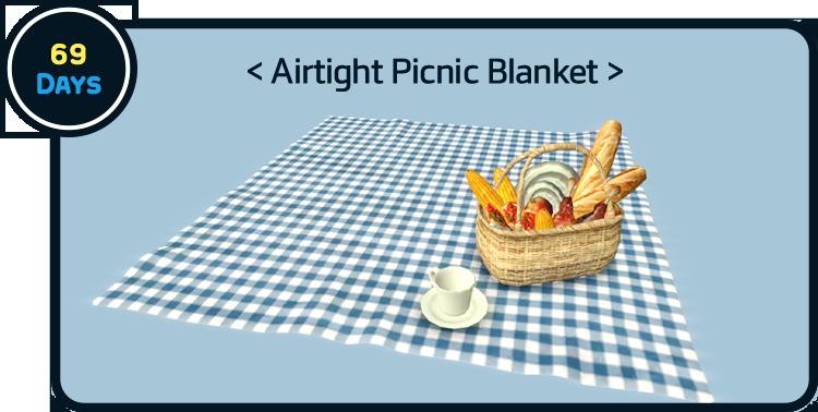 69 Days Airtight Picnic Blanket